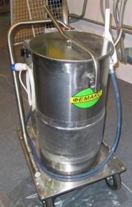 Установка для приготовления, подогрева и дозированной раздачи молочной смеси телятам УПР-80 2