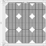 Стационарный солнечный модуль 121Л