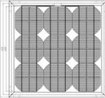 Стационарный солнечный модуль 121К